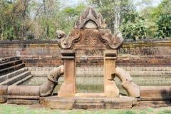 Temple de Prasat Muang Tam dans Buriram sur la Thaïlande Photographie stock libre de droits