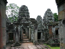 Temple de Preah Khan. Angkor, Siem Reap. Le Cambodge. Photo stock