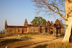 Temple de Preah Vihear Image libre de droits