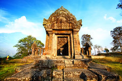 Temple de Preah Vihear Photographie stock
