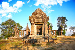 Temple de Preah Vihear Photographie stock libre de droits