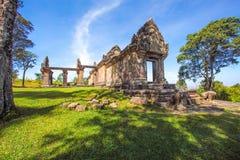 TEMPLE de PREAH VIHEAR un patrimoine mondial de royaume du Cambodge de merveille Photo stock