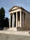 Temple de Pula Image libre de droits