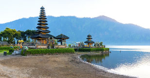 Temple de Pura Ulun Danu Photos stock