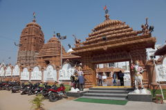 Temple de Puri Jagannath Photos libres de droits