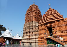 Temple de Puri Jagannath d'entrée, Hyderabad Photographie stock
