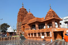Temple de Puri Jagannath, Hyderabad Image stock