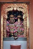 Temple de Radhe Krishna - Inde photo libre de droits