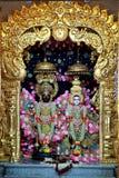 Temple de Radhe Krishna - Inde images stock