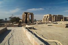 Temple de Ramesses II Photos libres de droits
