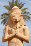 Temple de Ramses II. Karnak. Luxor, Egypte Photo stock
