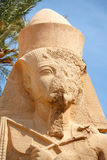 Temple de Ramses II. Karnak. Luxor, Egypte Image stock