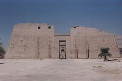 Temple de Ramses III image libre de droits