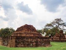 Temple de Ratchaburana photos stock