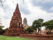 Temple de Ratchaburana photographie stock