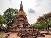 Temple de Ratchaburana photographie stock libre de droits