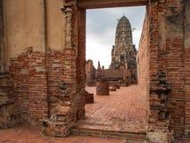 Temple de Ratchaburana image stock