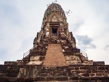 Temple de Ratchaburana image libre de droits