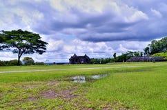 Temple de Ratu Boko Photo libre de droits