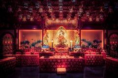 Temple de relique de dent de Bouddha et musée, Singapour Image stock