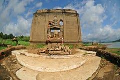 Temple de ruine photo libre de droits