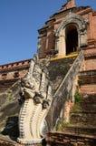 temple de ruines de Chiang Mai Thaïlande Photo stock