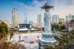 Temple de Séoul, Corée du Sud image libre de droits