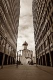 Temple de Saint-Nicolas, Moscou, Russie Photo stock