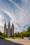 Temple de Salt Lake Photo stock