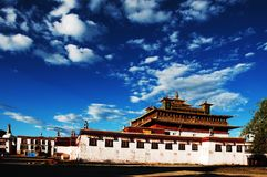 Temple de Samye Photos libres de droits