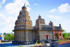 Temple de Sangameshwar près de Saswad, Pune, maharashtra photo stock
