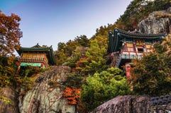 Temple de Saseongam en Corée Photos libres de droits