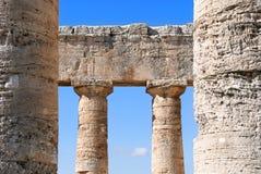 Temple de Segesta Photographie stock libre de droits