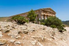 Temple de Segesta Image libre de droits