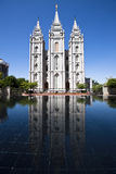 temple de sel de lac Images stock