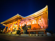 Temple de Senjoji de tombeau d'Asakusa Photographie stock libre de droits