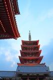 temple de Senso-JI, Tokyo, Japon Images libres de droits