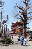 Temple de Sensoji à Tokyo Photos stock