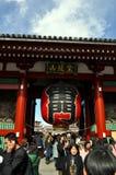 Temple de Sensoji à Tokyo Images stock