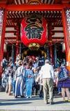 Temple de Sensoji Photos stock