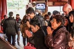 Temple de Sensoji- Photo libre de droits