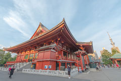 Temple de Sensoji photographie stock libre de droits