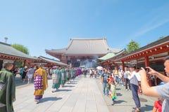 Temple de Sensoji photos libres de droits
