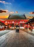 Temple de Sensoji (Asakusa Kannon) à Tokyo Images libres de droits