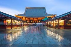 Temple de Sensoji dans Asakusa, Tokyo Image libre de droits