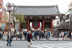 Temple de Sensoji à Tokyo, Japon Photo stock