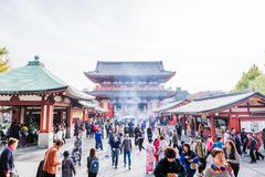 Temple de Sensoji images stock