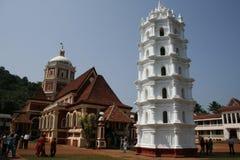 Temple de Shanta Durga Images libres de droits