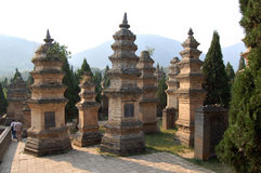Temple de Shaolin image libre de droits