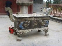 Temple de Shijiazhuang Pilu image stock